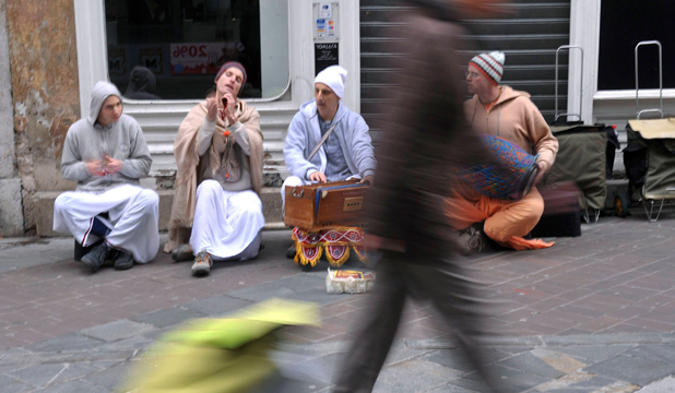The real life of a Hare Krishna